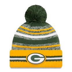New Era NFL Sideline Sport Knit 2021 Green Bay Packers