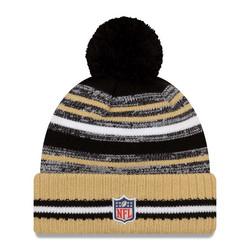 New Era NFL Sideline Sport Knit 2021 New Orleans Saints