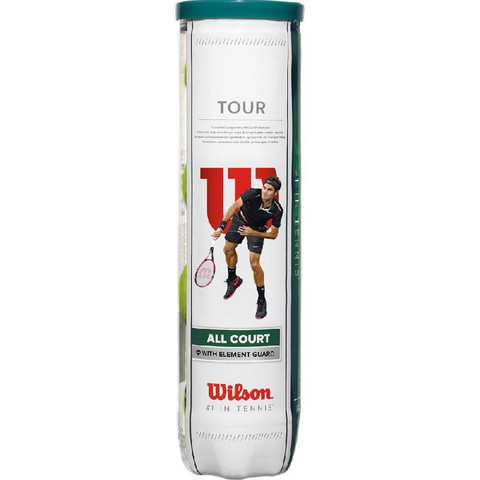 Wilson Tour All Court 4 Pallo