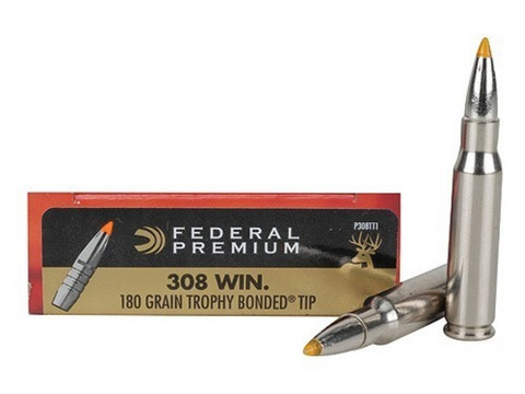 Federal Trophy Bond TIP 11.7g 308 patruuna