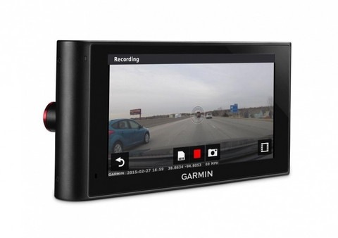 Garmin nüviCam LMT -navigator with camera