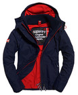 Superdry Pop Zip Arctic Windcheater - sininen/punainen