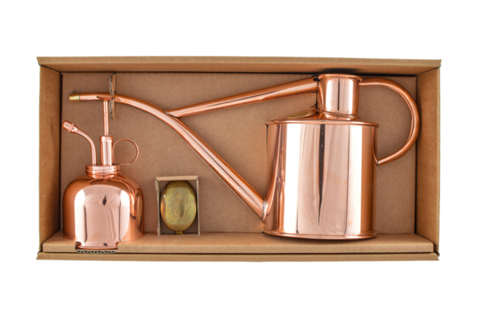 Haws Classic watering set Copper