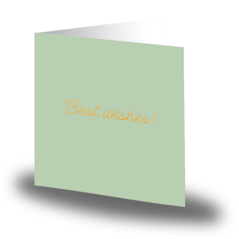 Card small Best Wishes