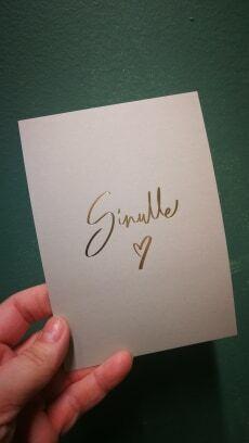 Card Sinulle