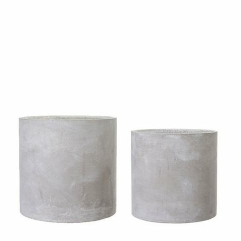 Concrete pot 27cm