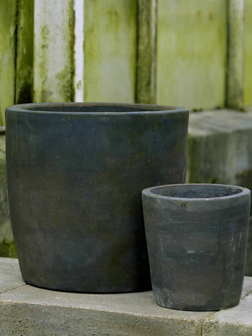 Planting pot patinated 18 cm
