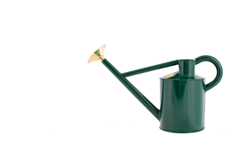 Haws watering can 4L green