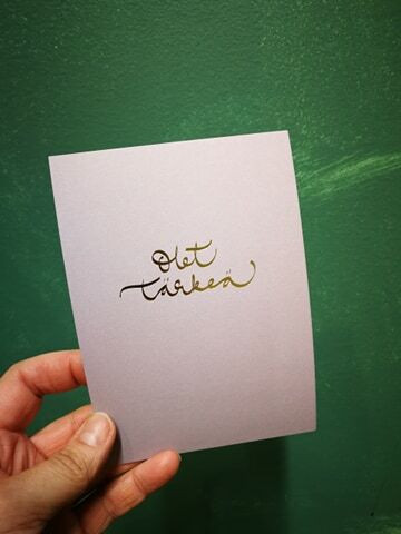 Card You are special