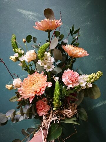 Funeral bouquet Ornithogalum
