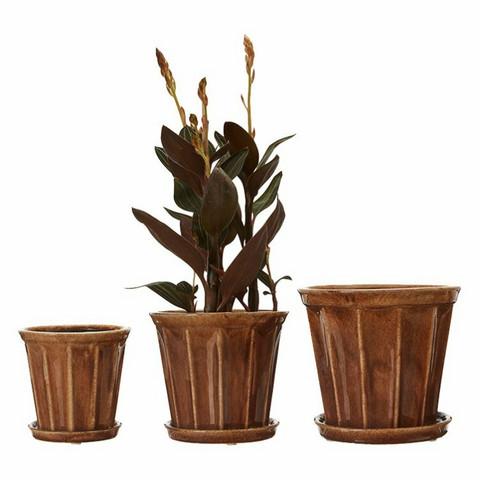 Planting Pot Felina Brown