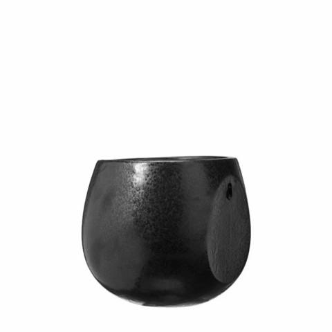 Wall pot black