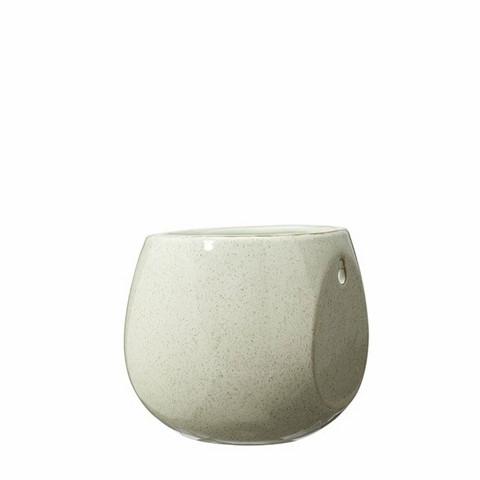 Wall pot white