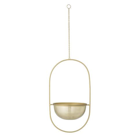 Hanging pot metal gold
