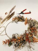 Workshop Dry Flower wreath 23.9.