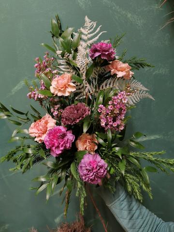Funeral bouquet Silence