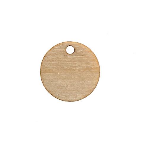 Pieni ympyrä 12mm, yhdellä reiällä, 1kpl