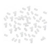 Silikonistopparit korvakoruille, 100kpl