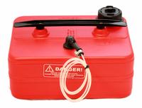 Safire Polttoainesäiliö 10L vaakamalli suodattimella ja 3,2mm letkulla