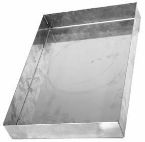 Refleks valumakaukalo ruostumaton 360 X 250 MM