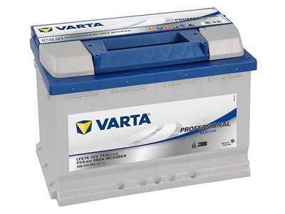 Varta akku 12V 74Ah /680A(EN) Professional Starter