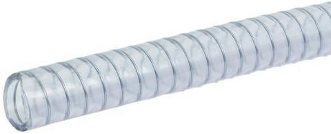 Vahvistettu kirkas PVC-vesiletku 2m