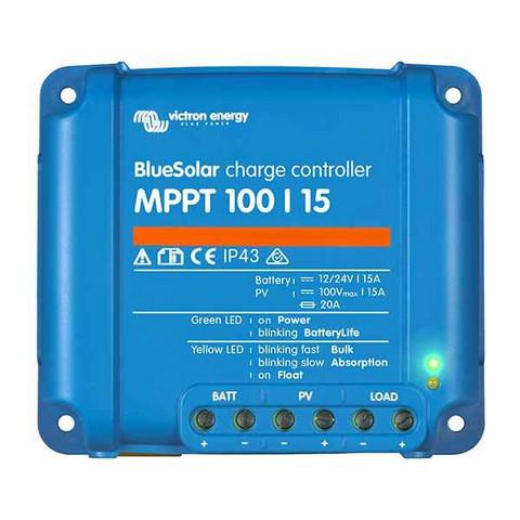100W Aurinkopaneeli + Victron 75/10 MPPt säädin