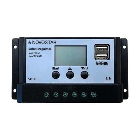 Lataussäädin Novostar PWM LCD 10 A