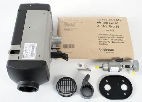 Webasto Air Top 2000STC Diesel 12V Marine Basic kit