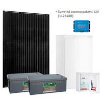 Sunwind aurinkoenergiapaketti Cool 12V