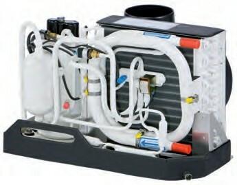 Webasto S8 Ilmastointilaite lämmityksellä, MyTouch käyttöpaneelilla