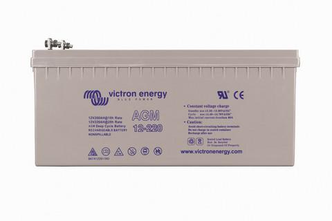 Victron Energy 220 Ah 12V AGM- akku aurinkosähköjärjestelmiin