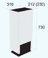 SAFIRE 3200B valkoinen, mökkilämmitin 12V (Diesel/Polttoöljy)