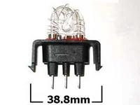 Xenon-polttimo, 10-30V, Xenon majakoihin, musta kanta