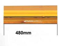 Varalasi paneliin, 480mm, keltainen, keskipala