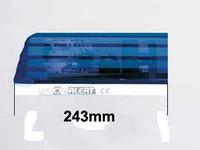 Varalasi paneliin, 243mm, sininen, päätypala