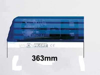 Varalasi paneliin, 363mm, sininen, päätypala