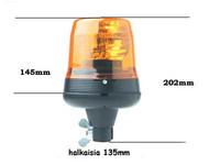 Vilkkumajakka, keltainen, H1 12/24V, Vision Alert