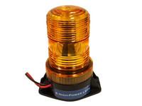 Led-vilkkumajakka, Mini, keltainen, 11-110V, 6x1W