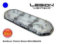 LED majakkapaneeli 12v sininen 920mm ECE R65