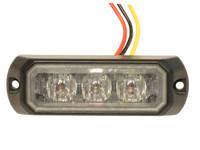 LED-tasovilkku, 3 x tehoLED