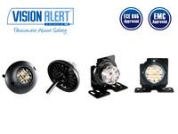 LED-varoitusvalo keltainen 10-30V