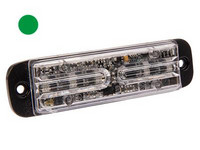 LED-tasovilkku vihreä vilkku