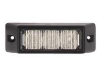 LED-tasovilkku,k eltainen, 3xLED