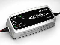 MXS 7.0 Automaattilaturi 12V, 7A, 8-vaiheinen, toimii virtalähteenä