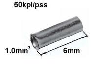 Pääteholkki 1.0mm2