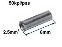 Pääteholkki 2.5mm2