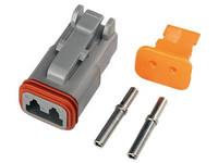 Deutsch DT 2-pin., esim työvaloihin (naarasliittimet)