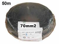 Akkukaapeli 70mm2 musta