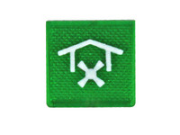 Symboli KATTOTUULETIN, vihreä